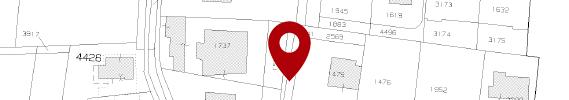 Estratto di mappa terreni individuato con Google Maps
