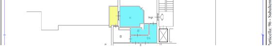 Planimetria catastale con calcolo superfici
